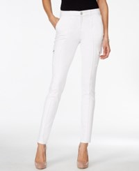 Styleandco. Style And Co. Petite White Cargo Jeggings Only At Macy's Bright White