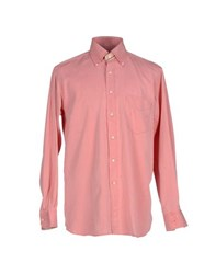 Husky Shirts Shirts Men Salmon Pink