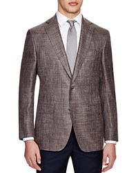 Jack Victor Loro Piana Classic Fit Sport Coat 100 Bloomingdale's Exclusive Brown Multi