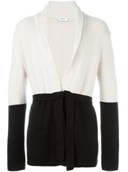 Ports 1961 Shawl Lapels Belted Cardigan Nude And Neutrals