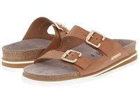 Mephisto Sandie Camel Waxy Women's Shoes Tan