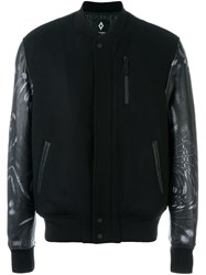 Marcelo Burlon County Of Milan 'Fagnano' Bomber Jacket Black