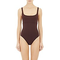 Eres Women's Arnaque One Piece Swimsuit Dark Brown