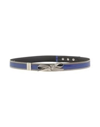 Richmond Belts Bright Blue