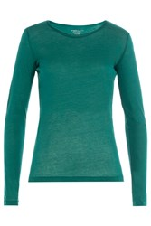 Majestic Long Sleeved Cotton Top With Cashmere Gr. 2