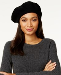 Inc International Concepts Solid Beret Only At Macy's Black