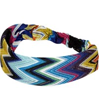 Missoni Zig Zag Headband Multi 6001