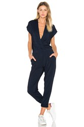 Ag Adriano Goldschmied Capsule Tetra Jumpsuit Navy