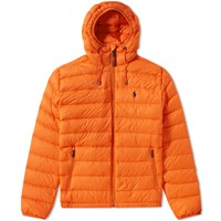 Polo Ralph Lauren Lightweight Down Jacket Orange