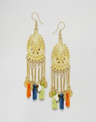 Asos Summer Festival Earrings Multi