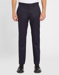 A.P.C. Navy Classic Waterproof Cotton Chinos Blue