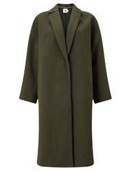 John Lewis Kin By Shawl Collar Coat Green