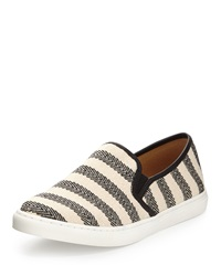Splendid Seaside Herringbone Slip On Sneaker Black