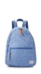 Herschel Town Backpack Chambray Polka Dot