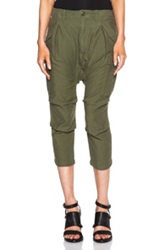 Nlst Harem Cargo Pants In Green