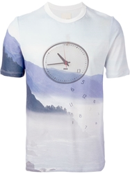 Band Of Outsiders Pique Clock T Shirt