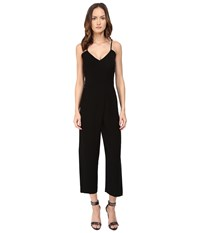 Mcq By Alexander Mcqueen Cross Jumpsuit Black Women's Jumpsuit And Rompers One Piece