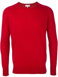 Paul And Joe Crew Neck Pullover Red