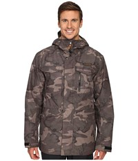 Burton Mb Covert Jacket Black Camo Men's Coat
