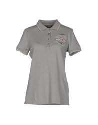Aeronautica Militare Topwear Polo Shirts Women Military Green