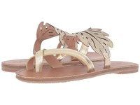 Tommy Bahama Plumeria Flat Light Gold Women's Sandals