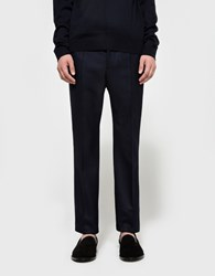 Marni Pants In Dark Blue