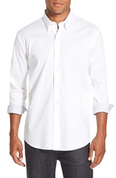 Zagiri 'Waiting For My Ruca' Modern Fit Button Front Sport Shirt White