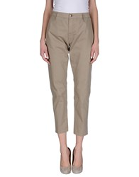 People Trousers Casual Trousers Women Sand