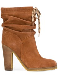 See By Chloe 'Jona' Slouchy Boots Brown