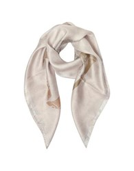 Jimmy Choo Shoes And Signature Printed Silk Square Scarf Pink