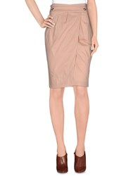 Annarita N. Skirts Knee Length Skirts Women Skin Color
