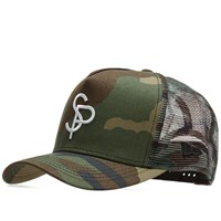 Sophnet. X New Era Mesh Cap Green
