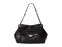 Nine West Abigail Medium Shoulder Bag Black Black Shoulder Handbags
