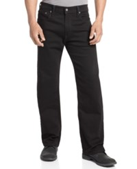 Levi's 569 Loose Straight Fit Jeans Black