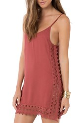 O'neill Women's 'Darby' Lace Trim Cover Up Slipdress