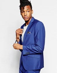 French Connection Bold Blue Suit Jacket Blue