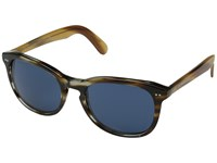 Burberry 0Be4214 Brown Horn Dark Gold Horn Dark Blue