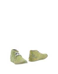 Yab Shoe Boots Military Green