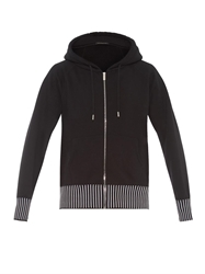 Christopher Kane Cotton Blend Hooded Sweatshirt