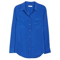 Equipment Slim Signature Blouse Nautical Blue