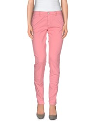 40Weft Trousers Casual Trousers Women Pink