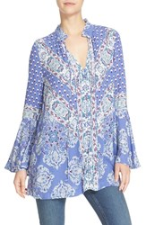 Free People Women's 'Magic Mystery' Tunic Top Sky