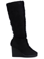 Castaner 'Olga' Wedge Boots Black
