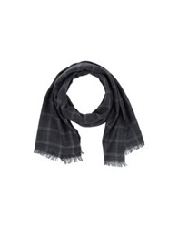 Havana And Co. Oblong Scarves Blue