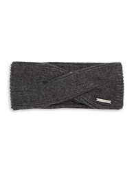 Michael Michael Kors Twisted Knit Convertible Headband Grey