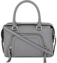 Dkny Chelsea Vintage Leather Satchel Flint