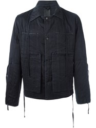 Craig Green Pocketed Lightweight Jacket Black