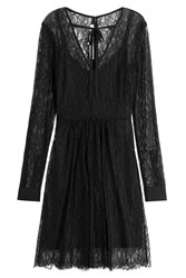 Mcq By Alexander Mcqueen Lace Dress Black