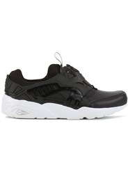 Puma 'Disc Blaze Leather' Sneakers Black