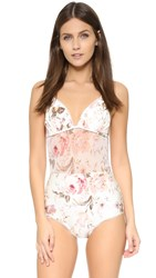 Zimmermann Eden Picot One Piece Floral